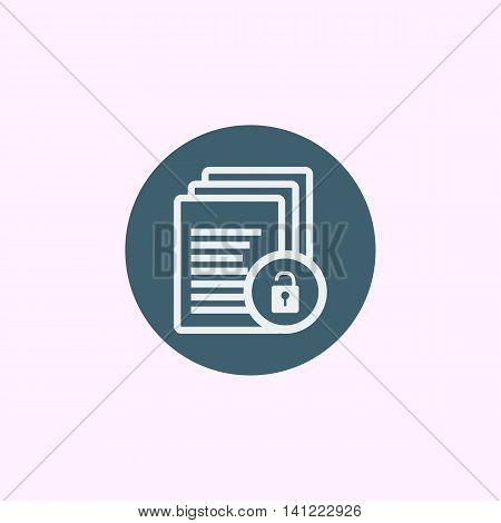 Files Lock Open Icon In Vector Format. Premium Quality Files Lock Open Symbol. Web Graphic Files Loc