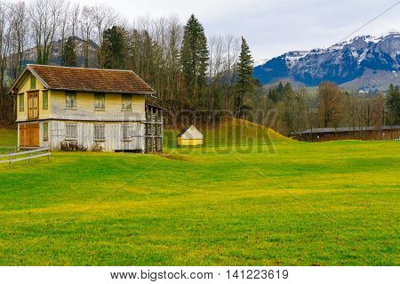 Swiss Countryside, In Appenzell