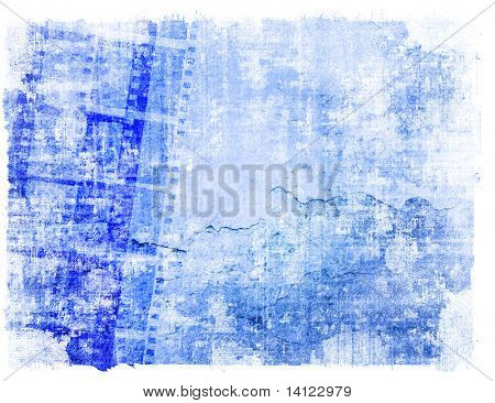 poster of Great film strip for textures and backgrounds-with space for your text and image