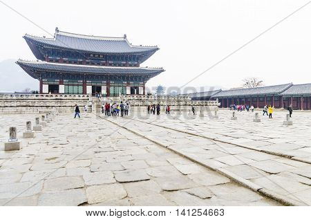 Korea Touring Place