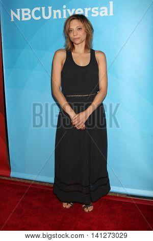 LOS ANGELES - AUG 3:  Lizzie Brochere at the NBCUniversal Cable TCA Summer 2016 Press Tour at the Beverly Hilton Hotel on August 3, 2016 in Beverly Hills, CA