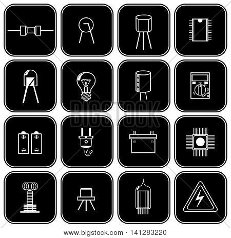 Set Of Various Electrical Parts