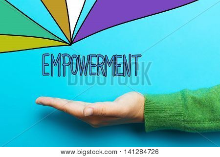 Empowerment Concept With Hand