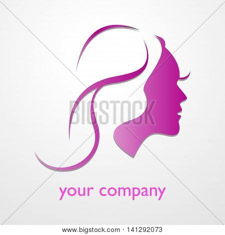 beauty Fashion girl background for you design