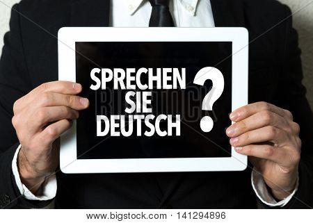 Do You Speak German? (in German)