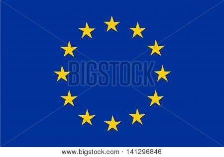 Flag of the European Union union flag european union vector flag