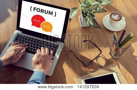 Forum       Message Discuss Talk
