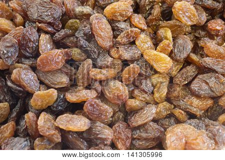 This is a photograph of sweet Raisins