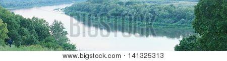 Polenovo, Views Of The River Oka