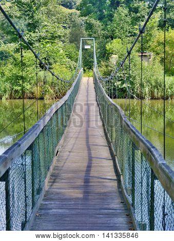 Bridge Over Dyje River