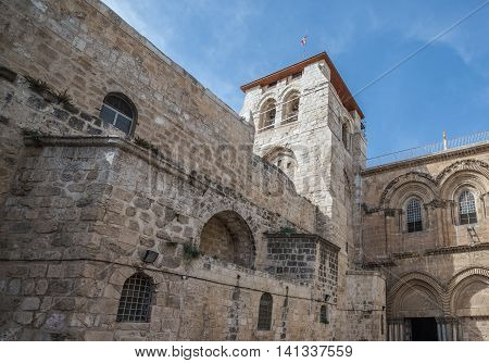 Church of the Holy Sepulchre in Jerusalem Israel