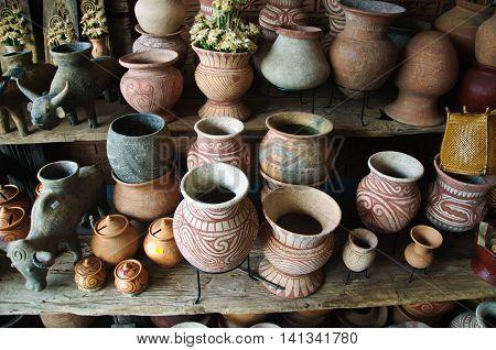 souvenir Ancient Earthenware Ban Chiang Udornthani Thailand