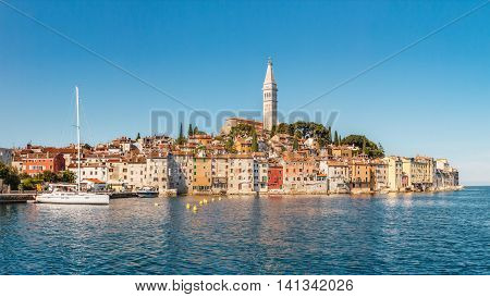 Old Town on Peninsula, Rovinj, Istria, Croatia