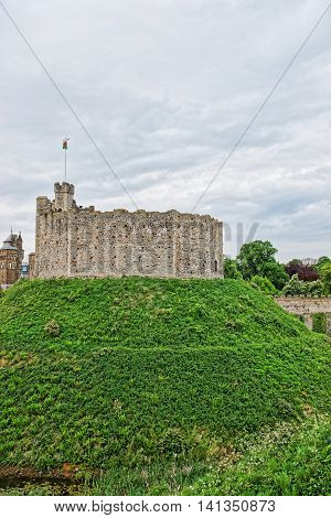 Watch Tower In Cardiff Castle In Cardiff In Wales