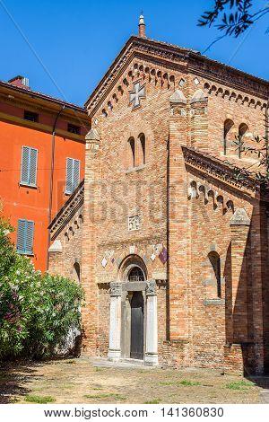 Santi Vitale E Agricola In Basilica Of Santo Stefano. Bologna, Italy.