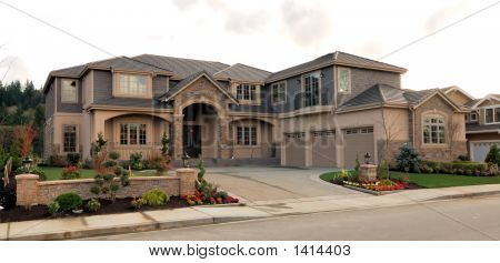Large American Home