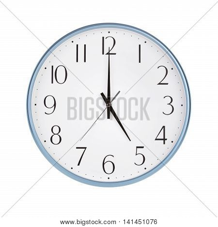 Five hours on a round clock face