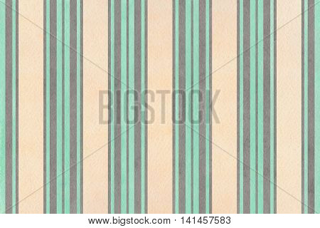Watercolor Beige, Seafoam Blue And Gray Striped Background