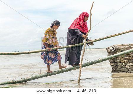 Flood In Bangladesh