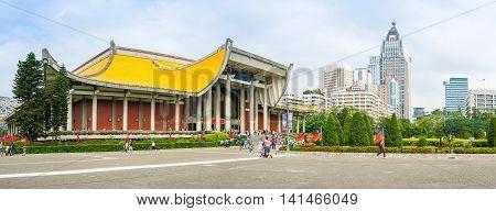 The National Sun Yat-sen Memorial Hall In Taipei, Taiwan