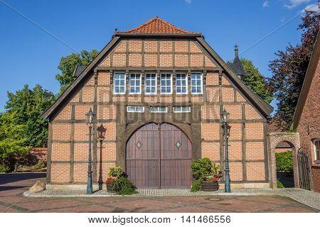 Entrance Of A Historical Farm In Haselunne