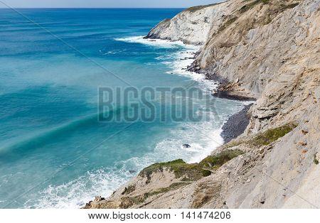 Summer Ocean Coastline (spain).