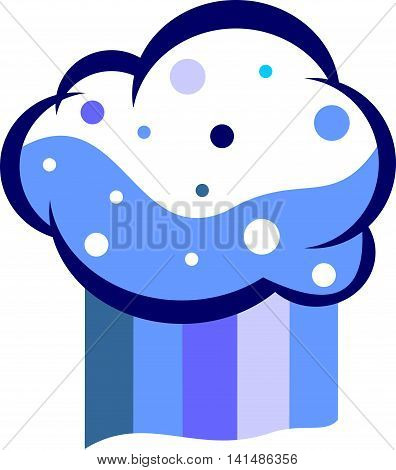 stock logo illustration brain cloud colorful element