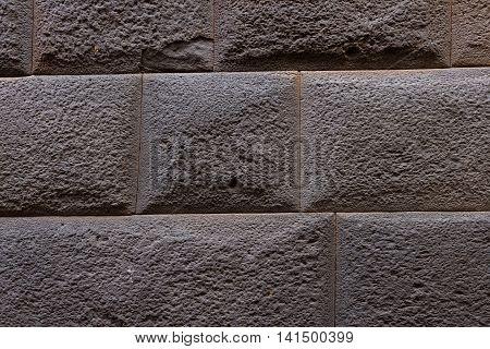 Inca Wall Background, Peru