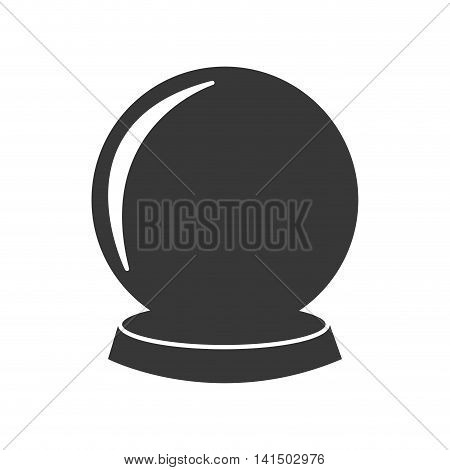 sphere future magic mistery icon. Isolated and flat illustration. Vector graphic