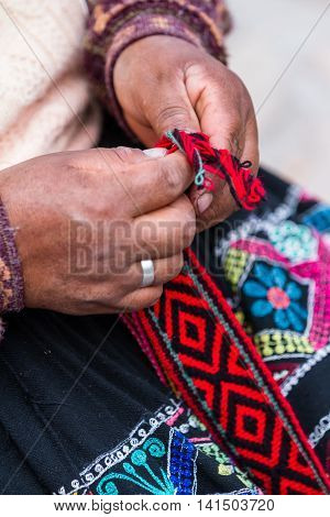 Traditional Peruvian Textiles