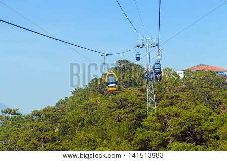 Overhead Cable Car