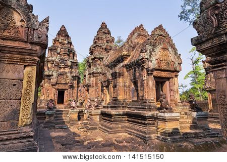 Banteai Srei, Siem Reap, Cambodia