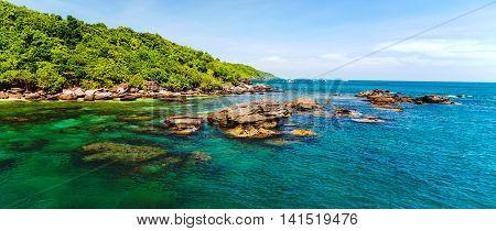 Jungle Island Sea