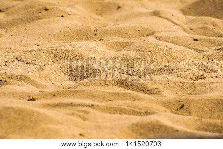 Sand Beach As A Background