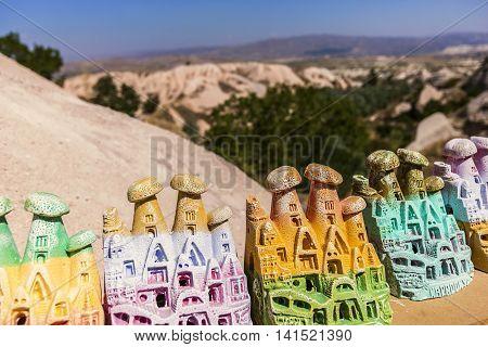 Souvenirs Of Fairy Chimney, Cappadocia In Turkey