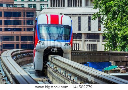Speed Transportation Monorail Train