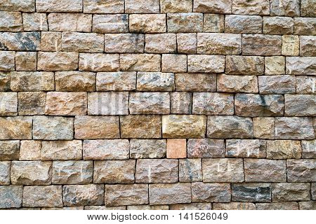 Old brick wall background texture stone rock