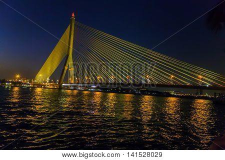 Rama Viii Bridge Bangkok, Thailand
