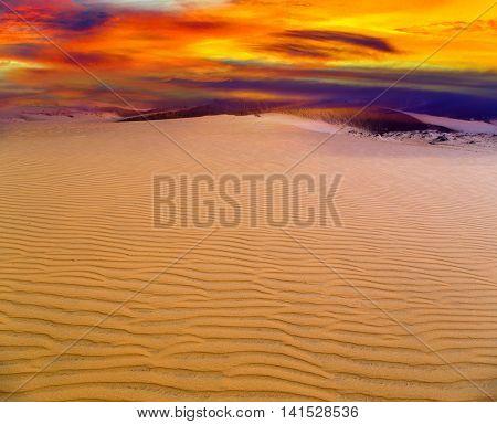Sand Of The Dune Desert