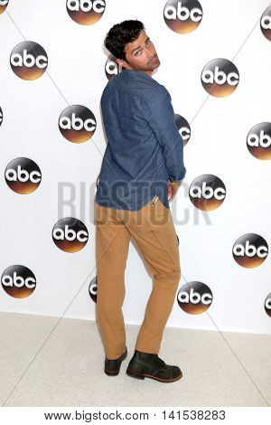 LOS ANGELES - AUG 4:  Matt Cohen at the ABC TCA Summer 2016 Party at the Beverly Hilton Hotel on August 4, 2016 in Beverly Hills, CA