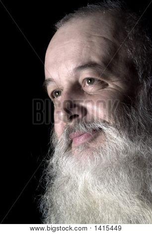Smile Smart Old Man