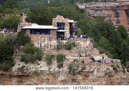 Kolb Lookout Studio, Grand Canyon National Park..