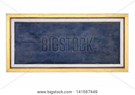 Blank wooden sign isolated on white background