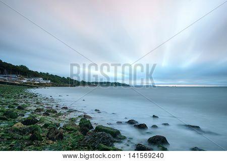 Gurnard Seafront, Isle Of Wight (uk)