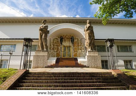 Art Nouveau Ernst-Ludwig building Mathildenhöhe Hessen Germany