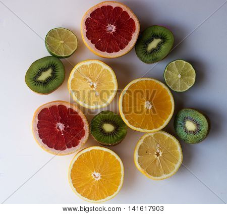 Dish citrus vitamins great boost of energy and vivacity for the whole day as well as the maintenance of health