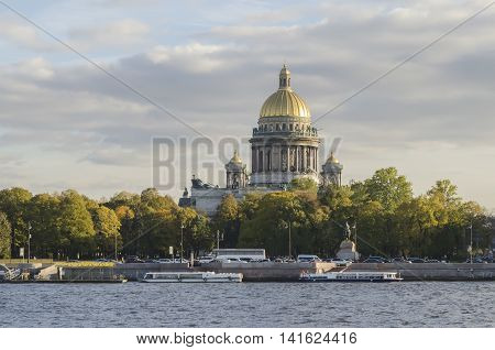 The architecture of St. Petersburg. Stock Photo