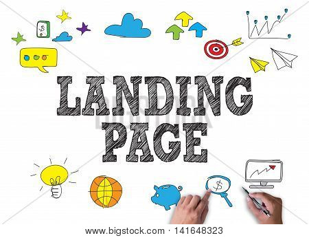 Landing Page  (seo Concept)