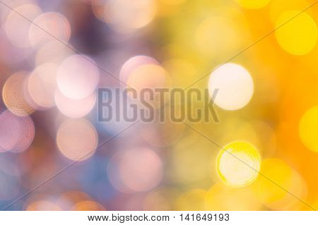 blur bokeh for abstract background pastel color