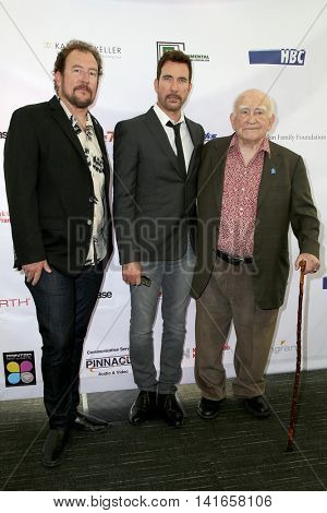 LOS ANGELES - AUG 6:  Matt Asner, Dylan McDermott, Ed Asner at the 4th Annual Ed Asner And Friends Poker Tournament For Autism Speaks at the South Park Center  on August 6, 2016 in Los Angeles, CA